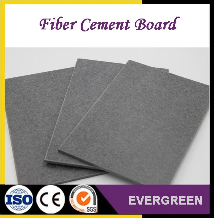 Waterproof reinforced fiber cement board