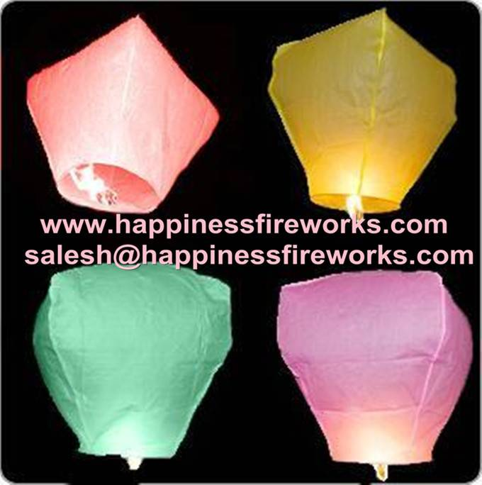 CE passed ECO friendly flame resistant flying paper sky lantern, chinese kongming lantern