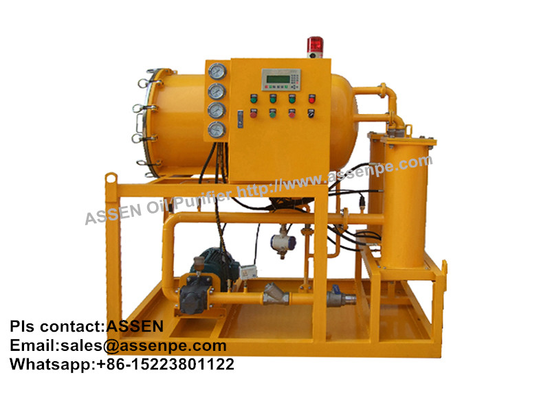 TYL series Coalescence-separation Fuel Oil Purifier,Fuel Water Separator machine