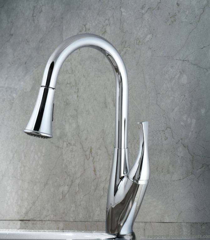 One-handle Kitchen Faucet with SUS 304 Spout