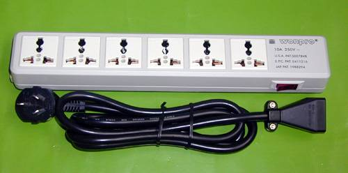 E-Bar -series electric power supply outlet