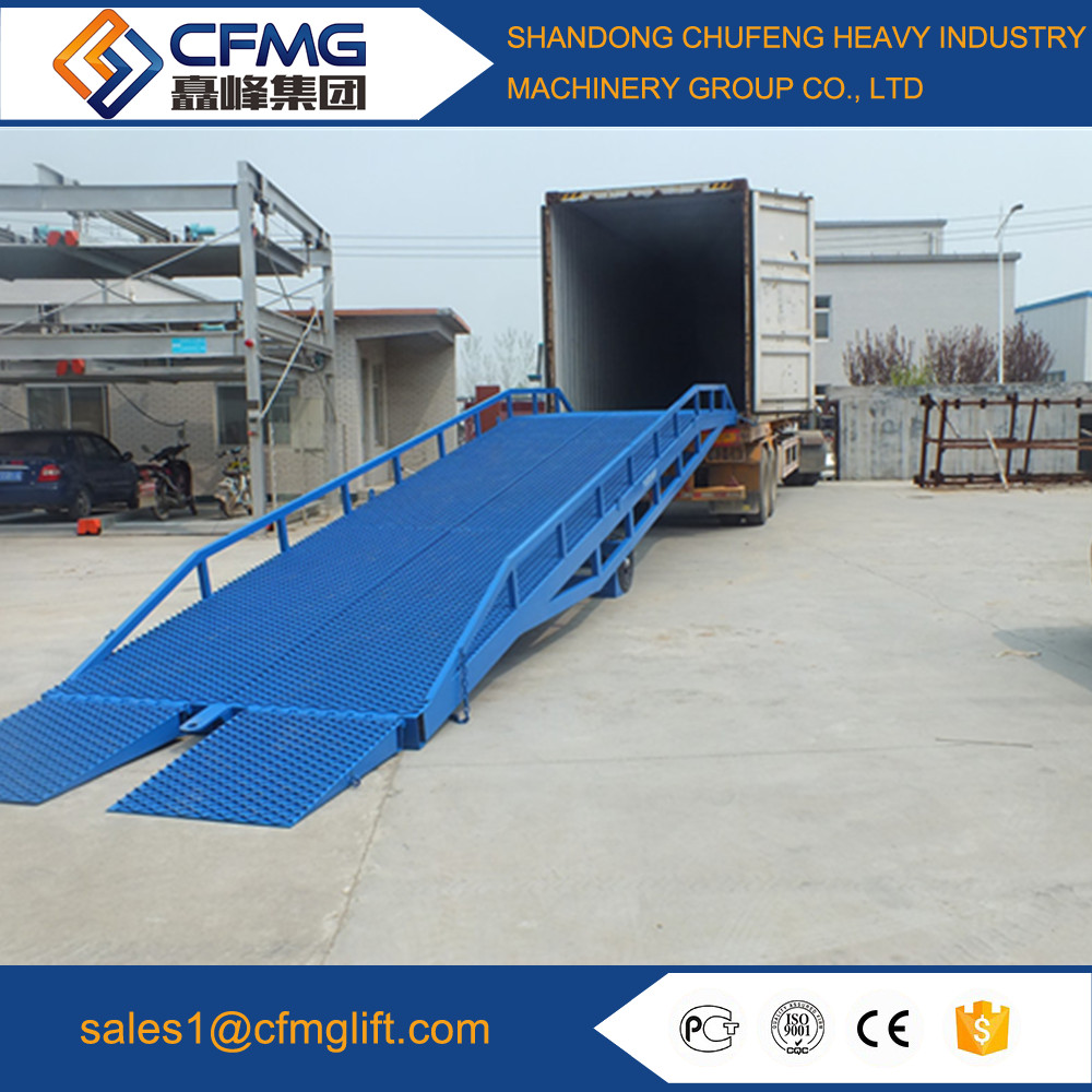 2017 New Design widely used container loading ramp dock ramp portable car ramp
