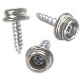 Snap Button Screw-in Studs