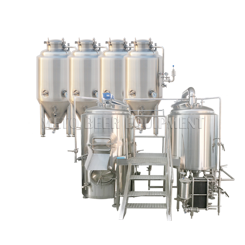 100L 200L micro beer brewing equipment for craft beer pub machine