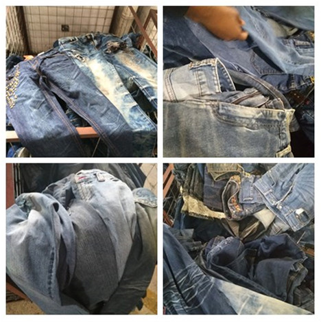 used jeans pants denin pants Grade A used clothes sale high quality second hand clothing