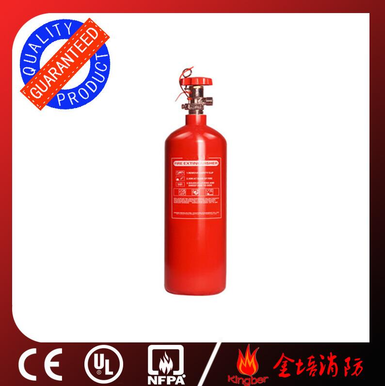 2KG Portable Carboon Steel CO2 Fire Extinguisher for Airport Using with ISO Approval