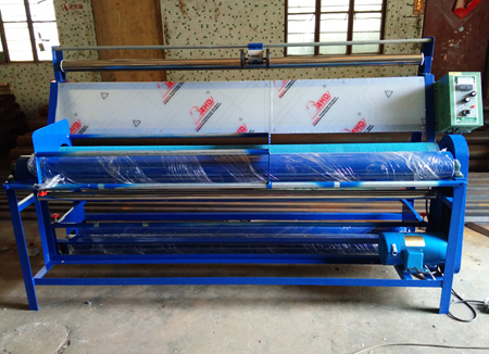 Professional Automatic Fabric Clothing Measuring Inspecting Slitter Rewinder Machine