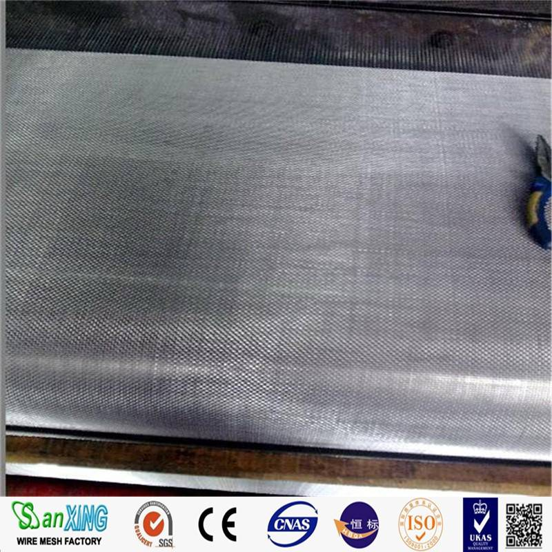 China Wholesale stainless steel filter mesh 1 micron / ultra fine stainless steel wire mesh