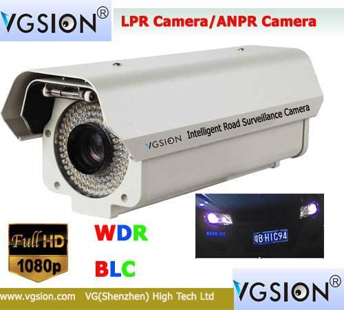 Network 1080PLicense plate capture Camera