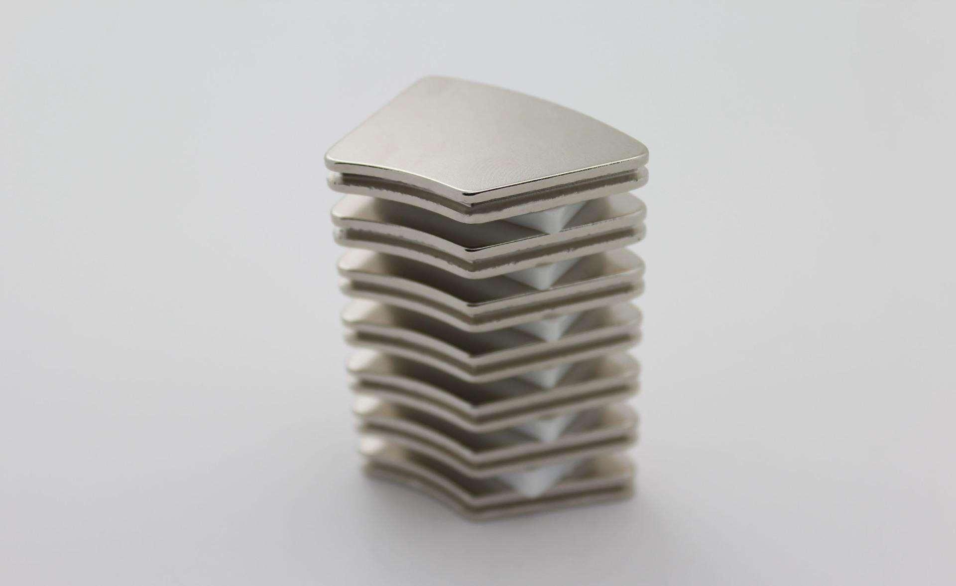 N52 N35 n40 N50 Neodymium Magnetic arc for motor Rare earth