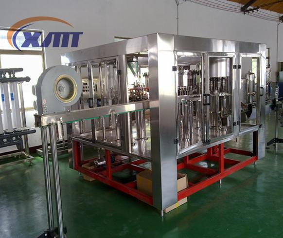 Factory price automatic 3 in 1 carbonated beverage filling machine