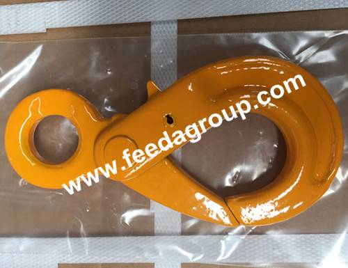 safety Hook, Self-locking Hook for lifting chain, fastener