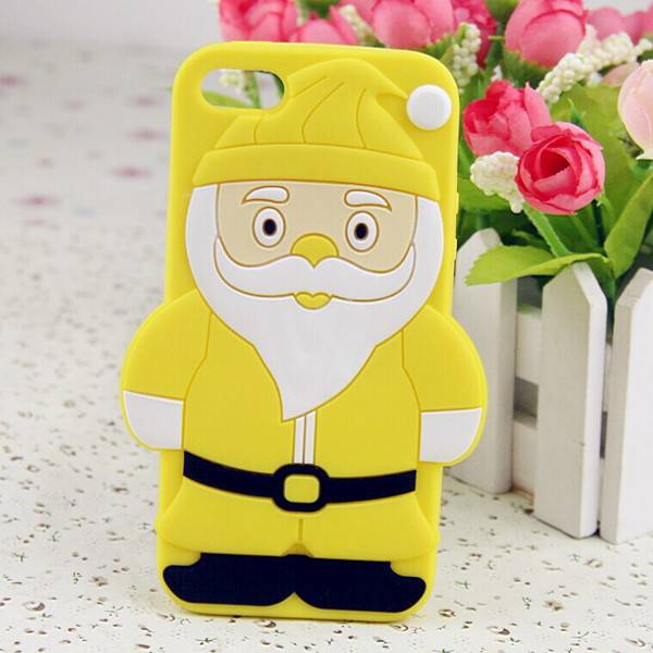 Christmas Gift Silicone Phone Cover for Iphone 6