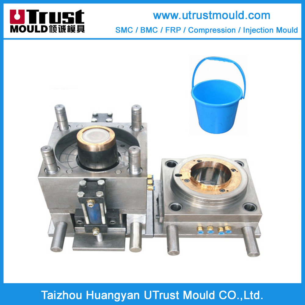 Household products plastic injection molds buckets moulding