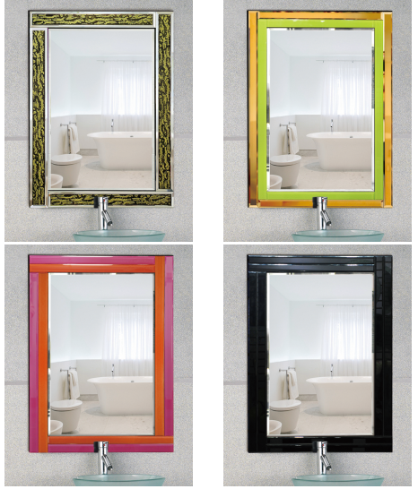 Modern style Hanging mirror/Bedroom mirror/Decorative mirror/frameless mirror