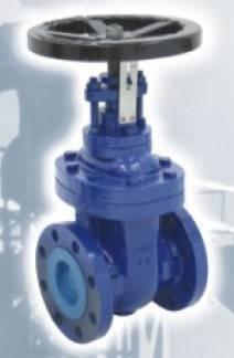 cast iron gate valve non-rising stem BS4504 PN16