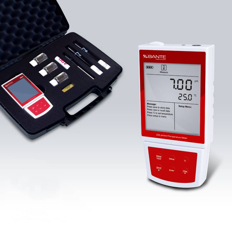 Bante220 Handheld Portable pH Meter