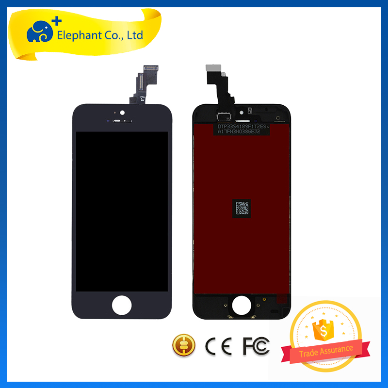 2017 Hot Sale New LCD Screen Digitizer for iPhone 5C Accpet Paypal LCD Screen Replacement for iPhone