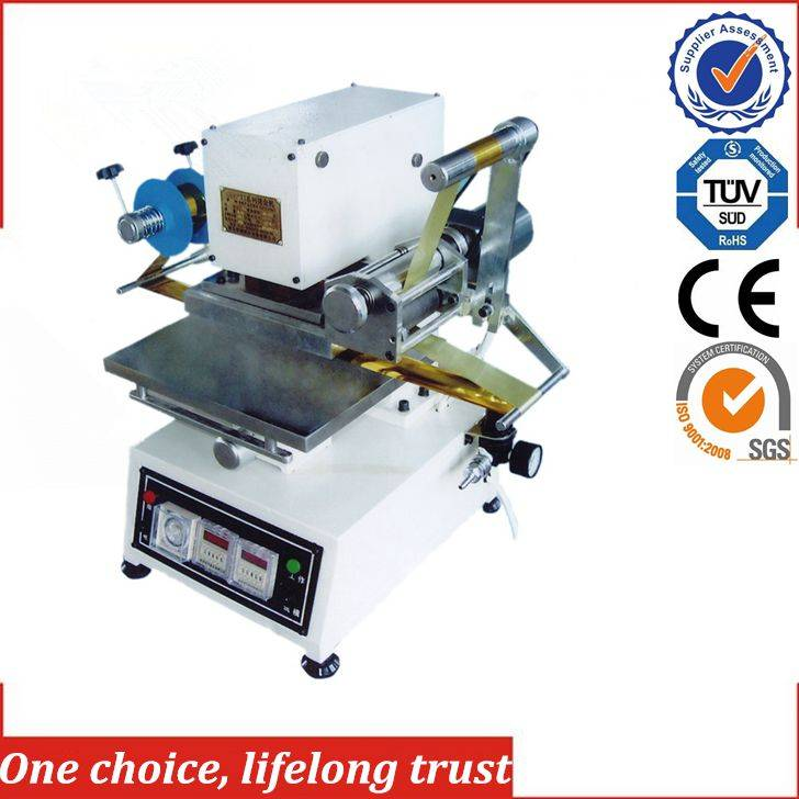 TJ-74 mini wedding invitation card hot foil stamping machine