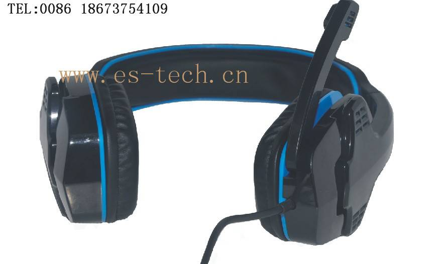 High quality headset with mic for PCs