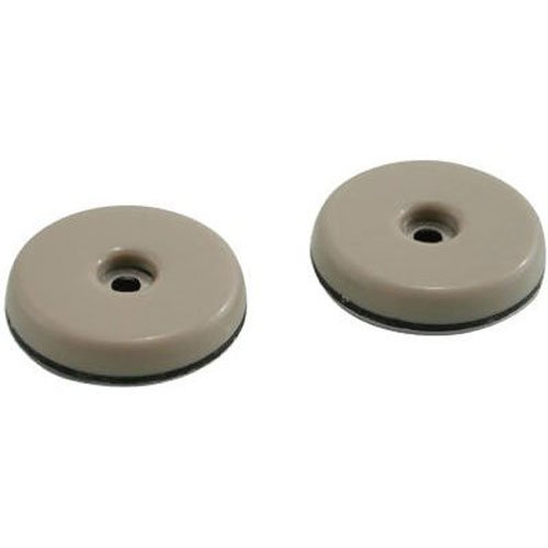 1-Inch Round, Adhesive Slide Glide Furniture Sliders