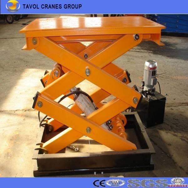 SJG8-1.5 Fixed scissor lift platform stationary scissor table lift