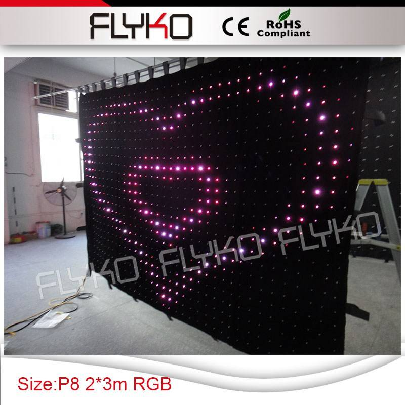 magic color led video curtain DJ stage SD controller