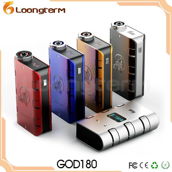 wholesale electronic cigarette god 180 box mod with huge vapor