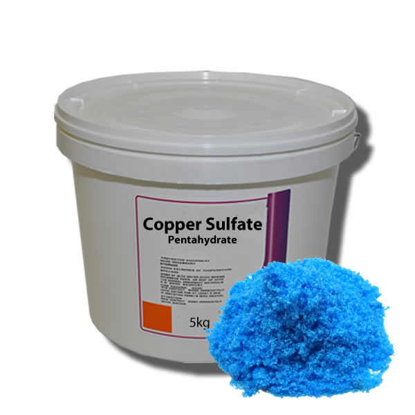 COPPER SULFATE, SODIUM BICARBONATE, SODA ASH LIGHT, SODIUM HYDROSULFIDE 70%,