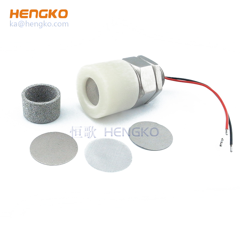 Gas Leak Detector Housing Sintered Stainless Steel Explosion Proof Filter Disc