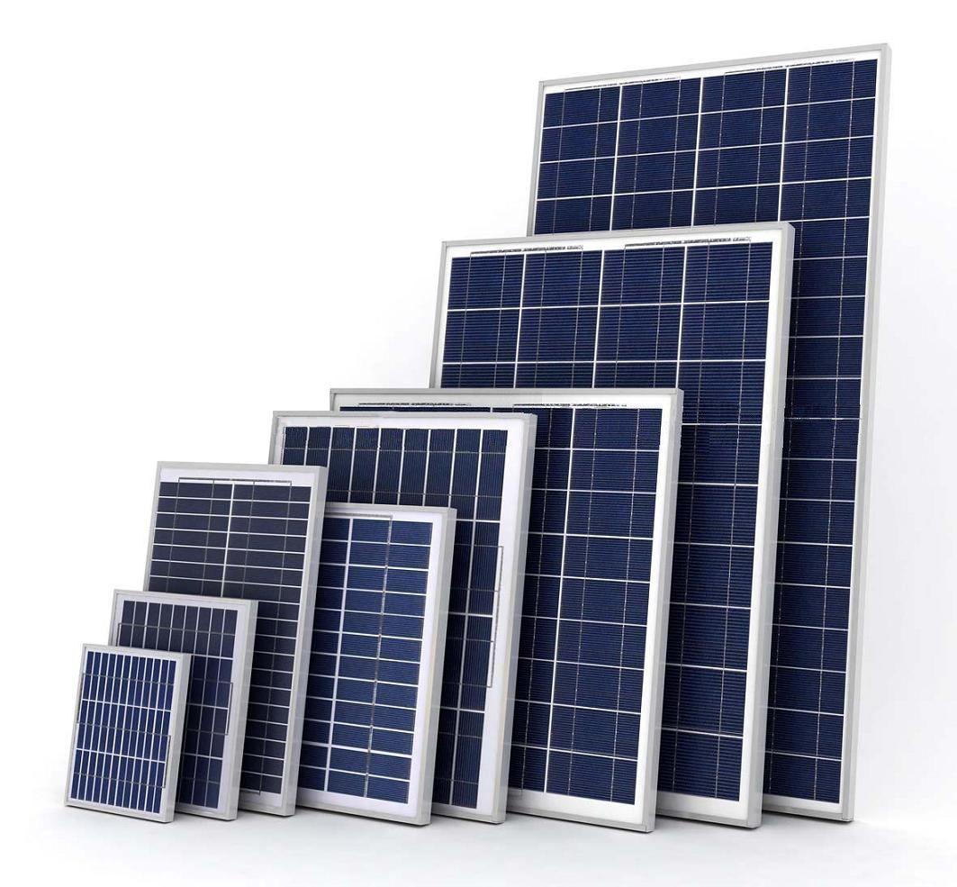 Polycrystalline silicon solar PV module