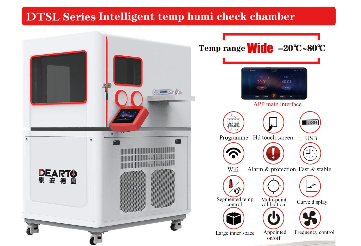 Wireless Control Temperature and humidity test chamber