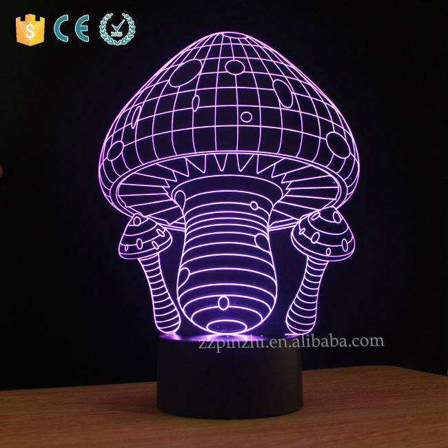 NL2 funny led mushroom decoration night light