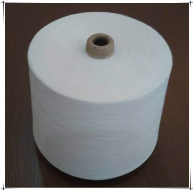 Raw white 90 degree 80s pva water soluble yarn for making zero twisted yarn