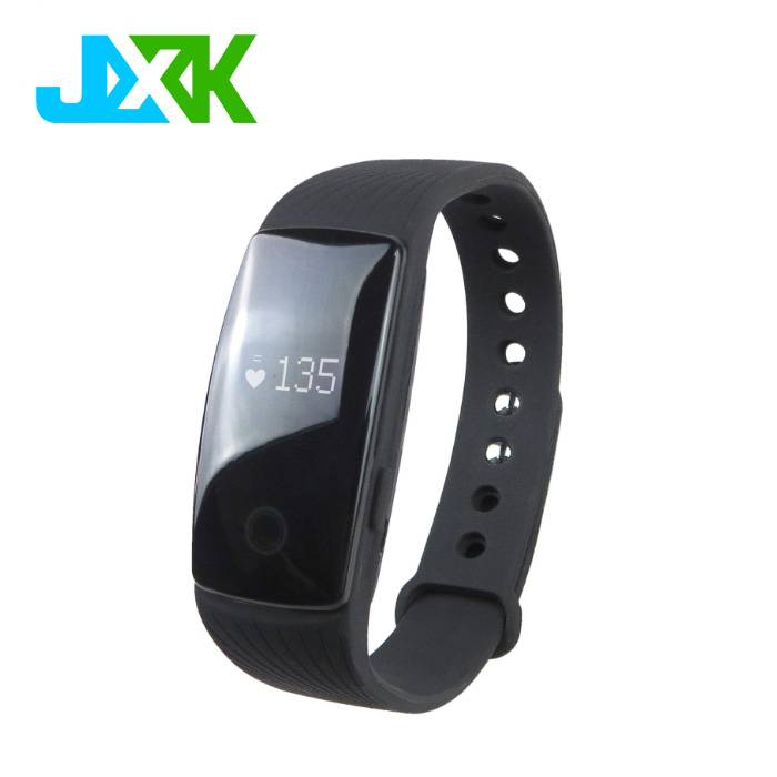 JXK Blood Oxygen pressure smart bracelet ID107 update High Quality Bluetooth Heart Rate Fitness Heal