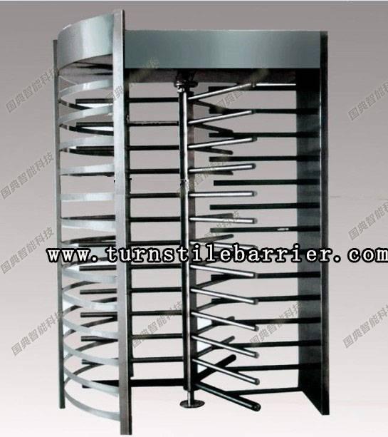 turnstile security gate traffic barrier boom door parking system waist height turnstile swing gate f