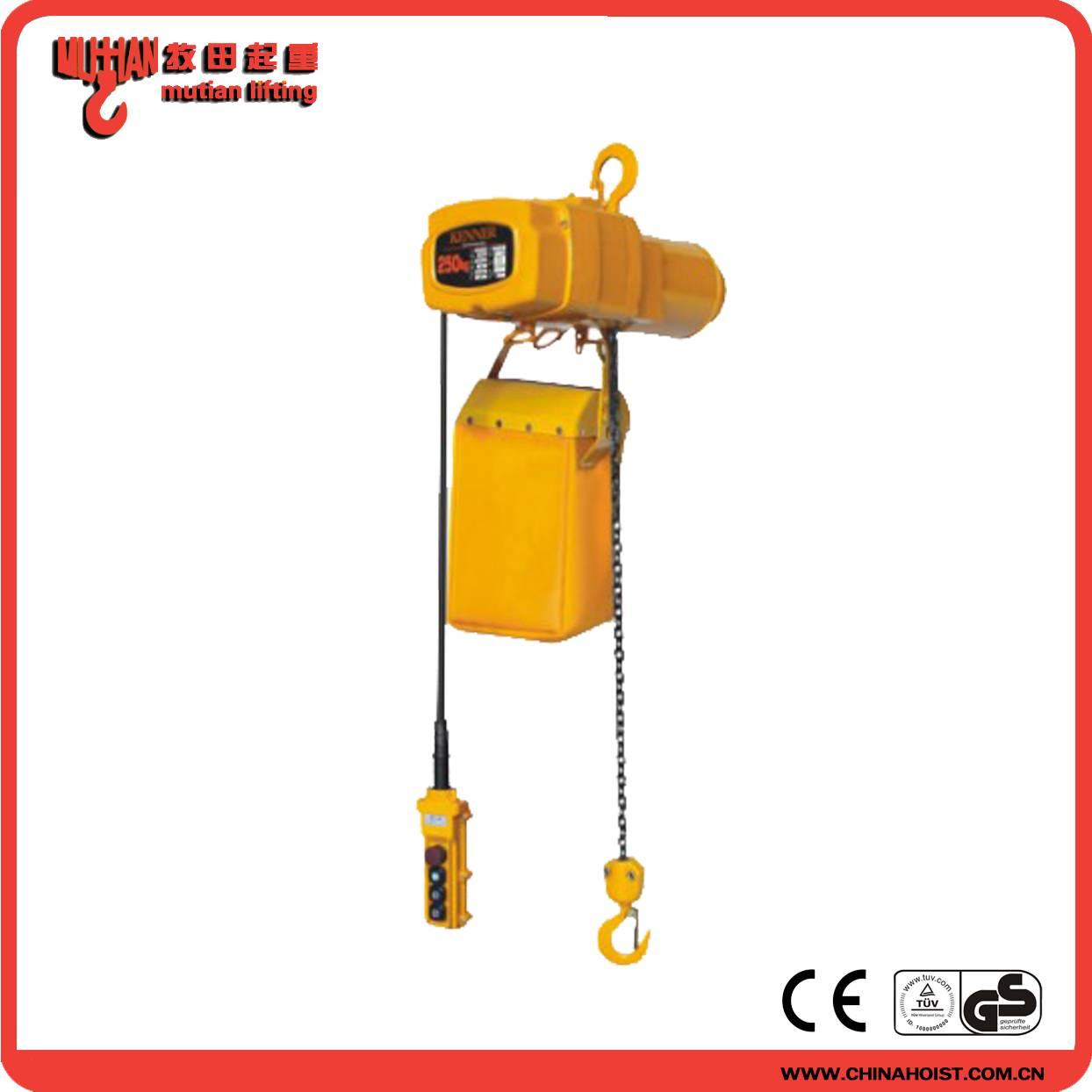 HHSY 250kg Electric Chain Hoist Dubai with remote control