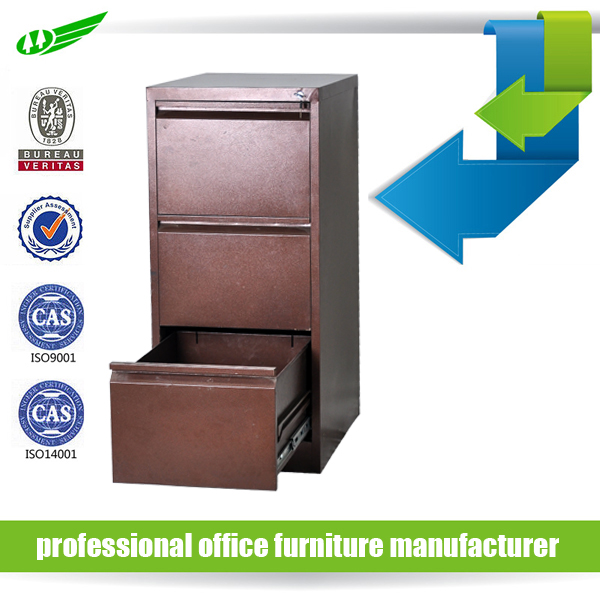flat package office hanging document storage 3 drawer cheap file cabinet