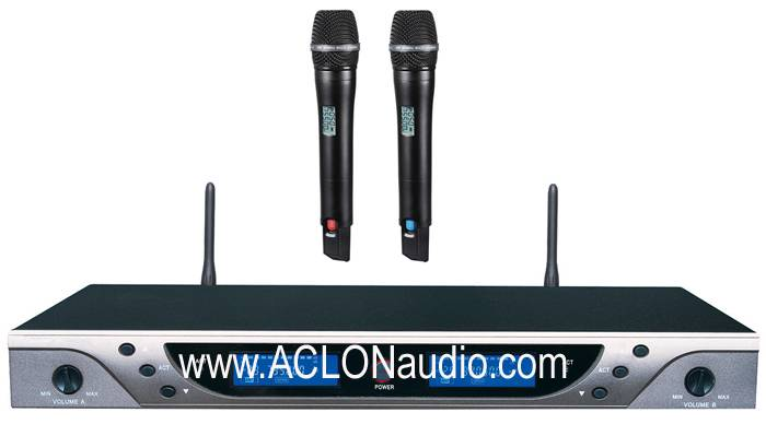UHF2 Channels Wireless Microphone (AMC909)