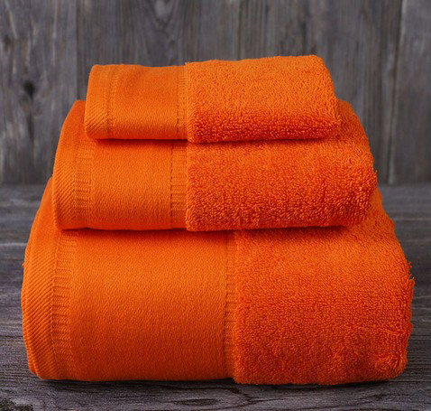 Luxury hotel embroidered bath towel 100% cotton
