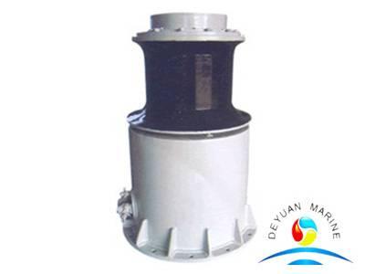 Marine hydraulic mooring rope capstan