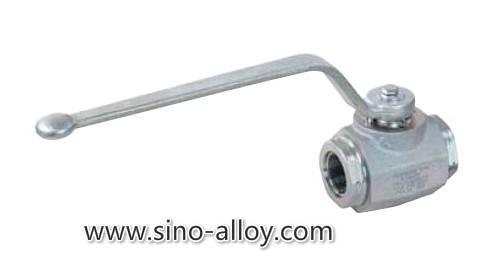 High pressure hydraulic ball valve max. 420 bar