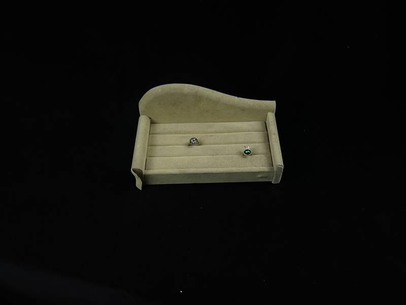 Sofa Shaped Ring Display Tray, Wedding Ring Display Stand