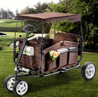 folding  beach cart garden trailer  camping portable cart