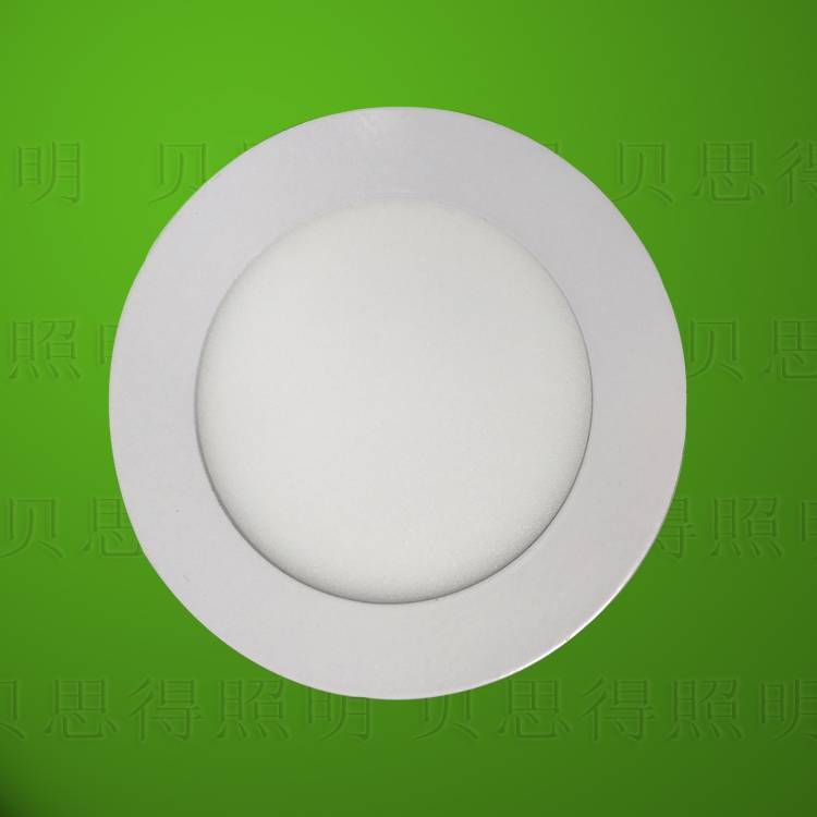6W Circular LED panel light