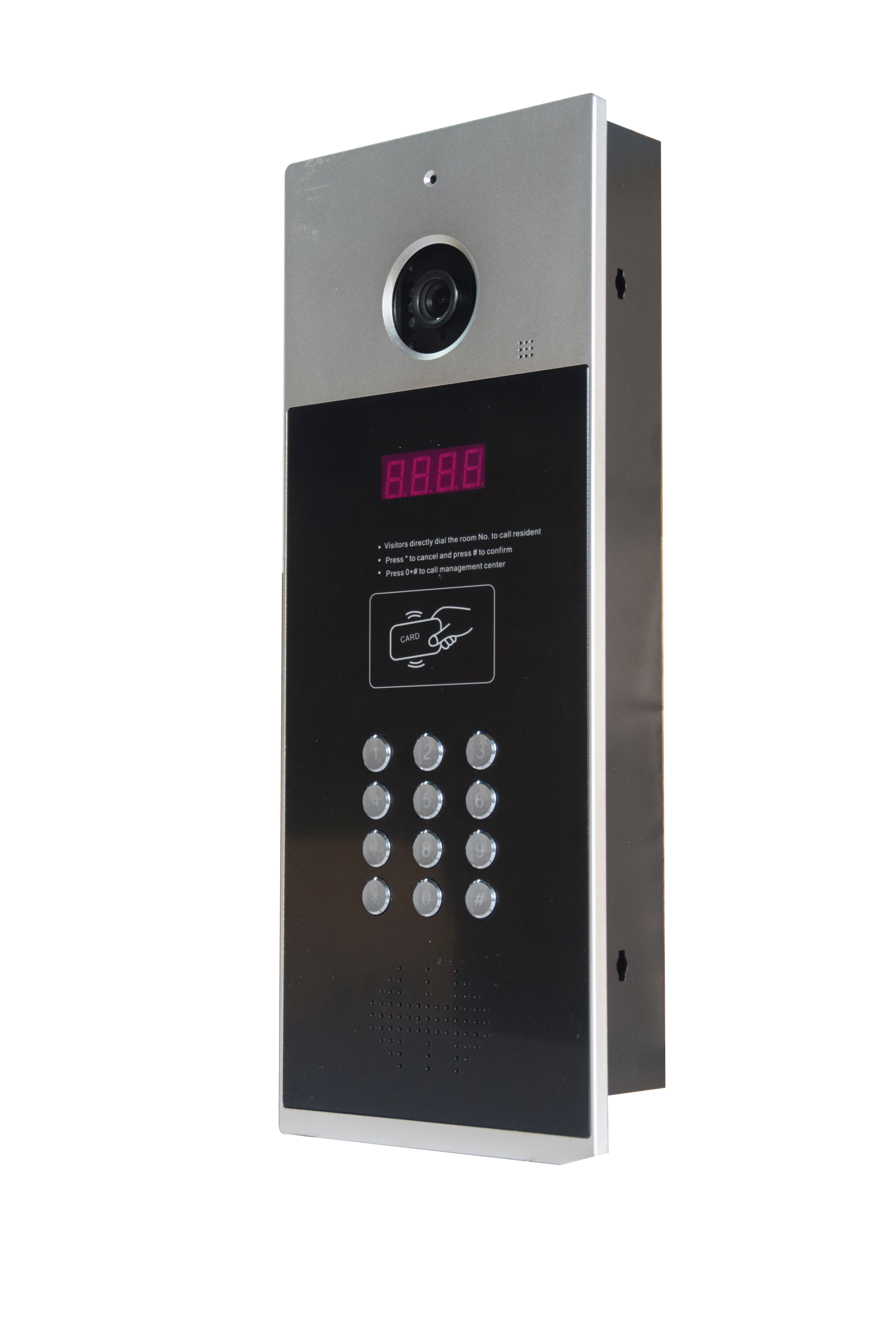 Max for 9999 rooms intercom system