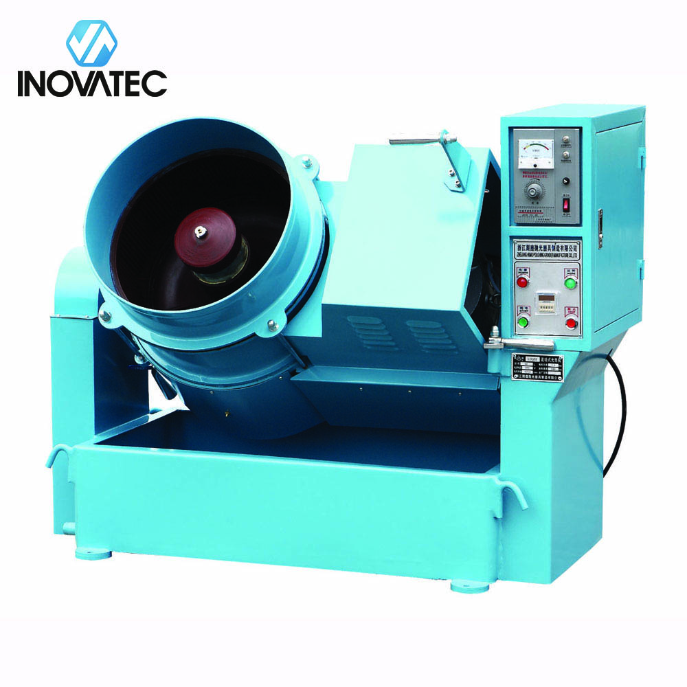 Centrifugal disk finishing machine - centrifugal tumbler