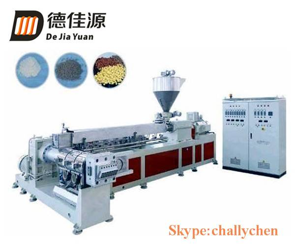 Plastic PE recycling pelletizing line