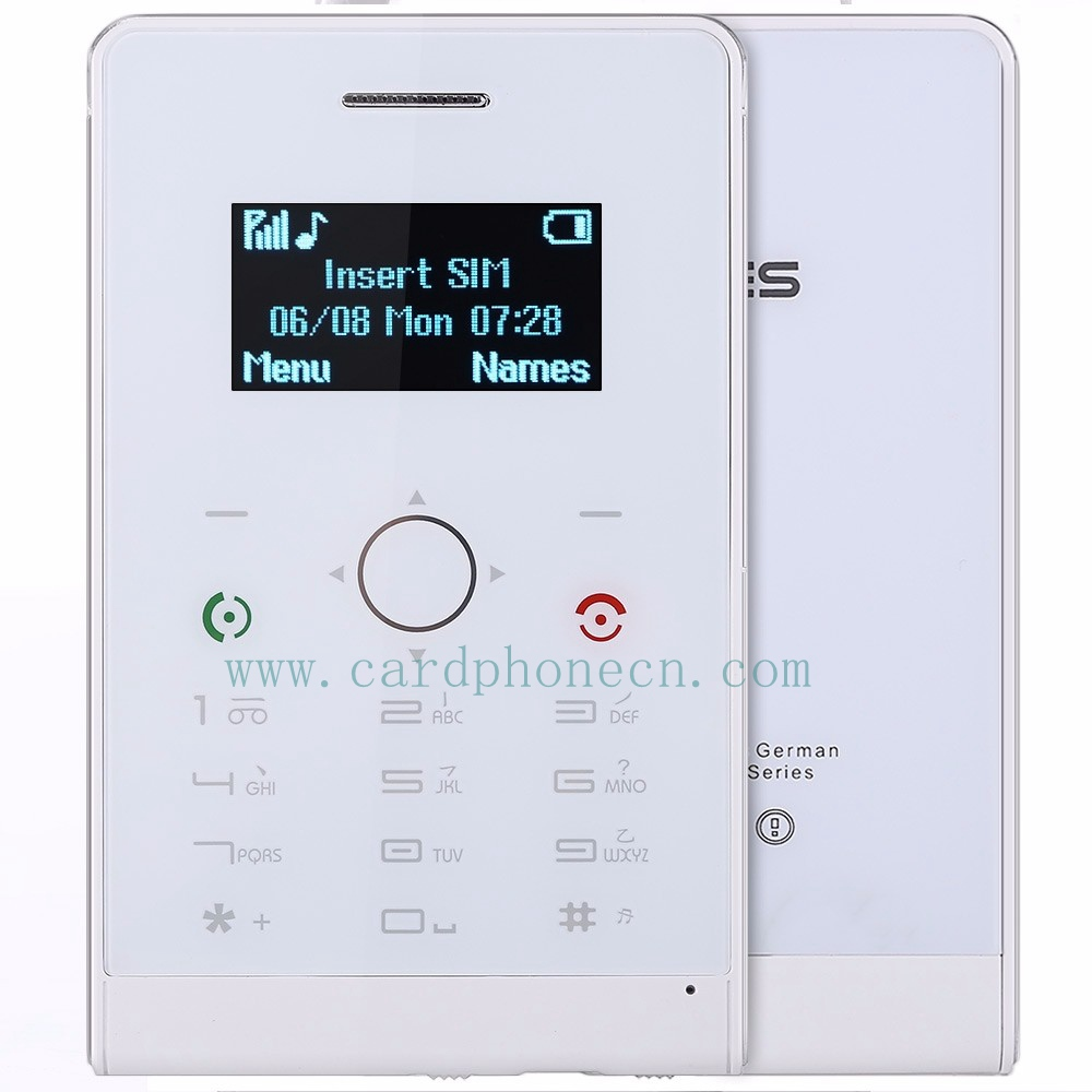 SOYES Card Phone H1 with Touch Screen