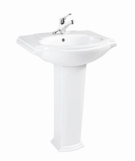 Basin  with Pedestal  LD77130
